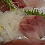旬魚や 魚いち - イカとブリ