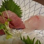 旬魚や 魚いち - マグロとホウボウ
