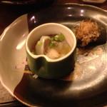 桃源郷 - 2014/07/☆  コース料理のつけ出し!       コースは、¥4860 飲み放題!