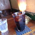 Cafe&Antiques Nancy - アイスコーヒー(600円)です。