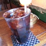 Cafe&Antiques Nancy - グラスは大きいです。
