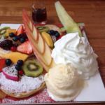 オルシヴァル - フルーツスペシャルパンケーキ