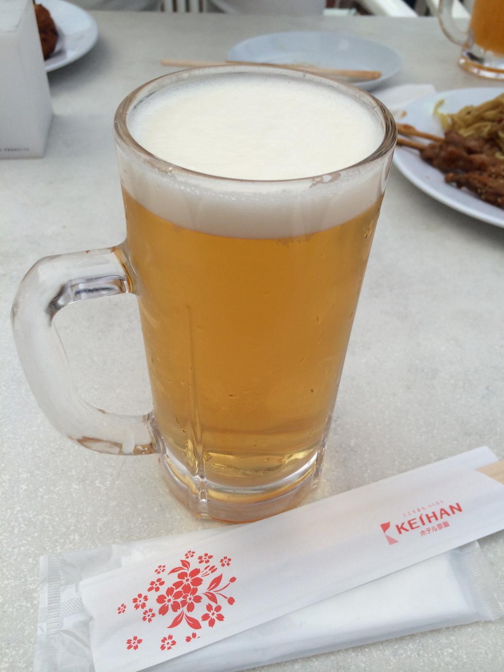 ホテル京阪京都 グランデ 屋上ビアガーデン