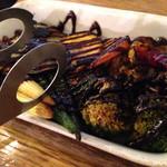 28962847 - 彩り野菜の八丁味噌グリル