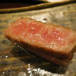 日本料理 太月 - 26年7月 仙台牛炭火焼き アップ