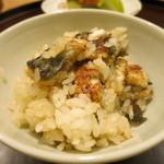 日本料理 太月 - 26年7月 静岡鰻御飯 取り分けて