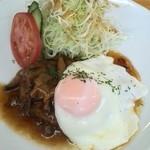 カフェ・イースト - 和風ハンバーグ定食