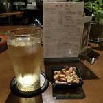 グルービー - 2014' 7/5 ジャックダニエル水割りとサービスのナッツ