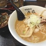 らぁめん椿家 - チャーシュー丼ランチ(900円)