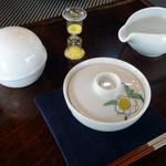 お茶の竹翆園 - 料理写真:しずく茶