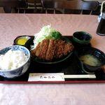 たかおか - ロースかつ定食(1,780円)