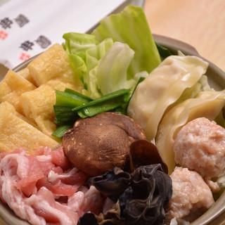 【串善☆特製鍋】チゲちゃんこ鍋or鶏鍋でぽかっぽか◎