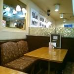 レストランBON - 昭和時代の駅前写真などが↑