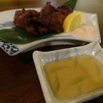 ひごつ堂 - 馬ビンタ(ほほ肉)炙り焼き(680円)