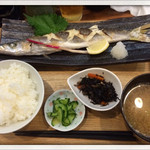 28980659 - カマス焼き定食                       2014.7