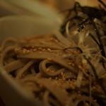 ツキノワ料理店 - 細麺?
