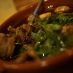 ツキノワ料理店 - 鹿バラのスパイス煮込み
