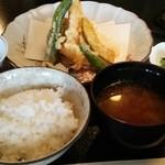 和食 佐久田 - 天麩羅定食