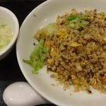 紅虎餃子房 - たまごレタス炒飯:850円