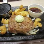 ステーキガスト - 料理写真:にんにく厚切りサーロインステーキ