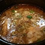 28988970 - 豚骨・鶏ガラのダブルスープ。程よい脂の旨さが飲んだ後にも最適です( ´ ▽ ` )ノ