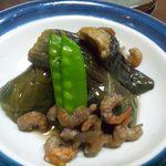 一品料理 みほこ - 料理写真:2014.7. おばんざいからなす煮物
