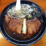 味処 じんべ - とんかつラーメン_720円