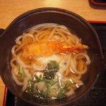Uohachizushi - 魚八定食の鍋焼きうどん