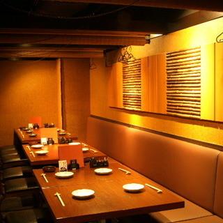 【個室】大小様々な宴会個室をご用意しております!