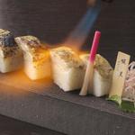 銀座酒房 六角 - のど黒の棒寿司