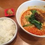 29003604 - 四川担々麺ランチ(麺大盛り+100円)