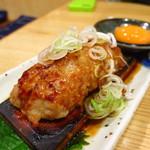 味の鶴岡 - 料理写真:つくね大判焼き400円