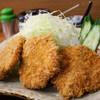 Tonkatsusugi - 料理写真:ひれかつ定食 (2014年7月)