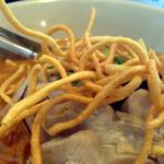 シャム - シャム, タイカレーラーメン(チキン) 揚げ麺