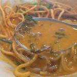 シャム - シャム, タイカレーラーメン(チキン) スープ