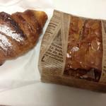 pain le coeur himari - メープルクロワッサンとラスク