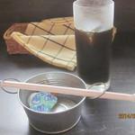石焼オムライスダイニング クローバーキッチン - アイスコーヒー