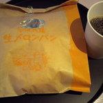 花畑牧場カフェ - 花畑牧場カフェのメロンパンです