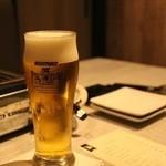 うしごろバンビーナ - ■生ビールで乾杯!