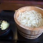 丸亀製麺 - 釜あげうどん(並)280円