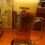 串だおれ - 生ビール:390円