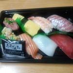 寿司ざんまい - 料理写真:1人前(並) 850円 (2014.07.15)