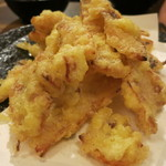 玄海対馬 - さきいかの天ぷら。