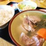まんぷく食堂 - アヒル汁