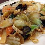 中国家常菜 しんた - あんかけやきそば(850円)