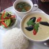 タナカフェ - 料理写真:ランチのグリーンカレー 750円
