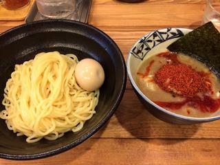 兼虎 天神店 - 赤坂 麺や兼虎 味玉辛辛つけ麺 200g