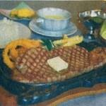 鍋辰 - 料理写真:長野日報掲載サーロインステーキ