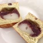 手作りパンの店 「チロル」 - 抹茶おぐら