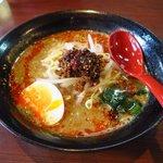 小龍門 - ラーメンセット(担々麺)